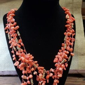 Kenneth Cole New York Red Stone Necklace